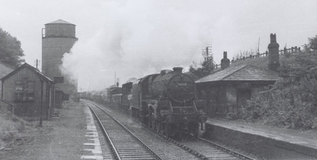Moore Station (LNWR) 1947