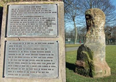Milestone in Victoria Park