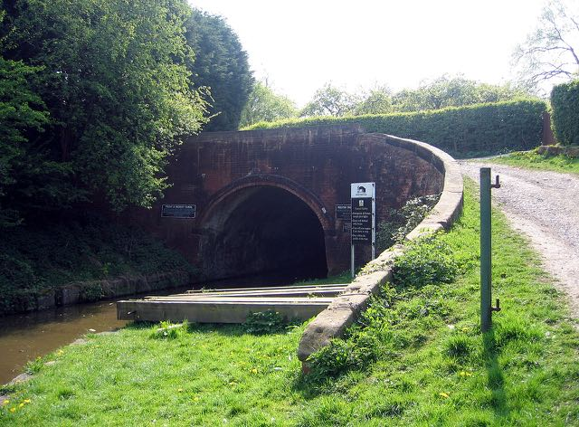 Preston Brook tunnel top