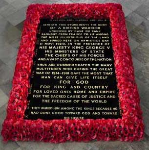 Unknown Warrior's grave