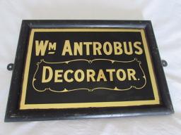 William Antrobus & Son, Painter and Decorator